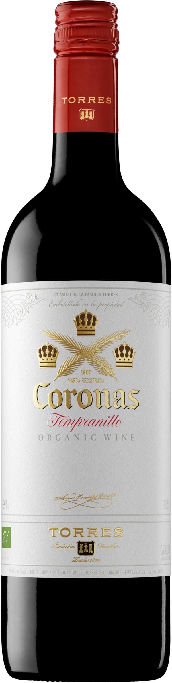 Torres Coronas Tempranillo Organic 2017