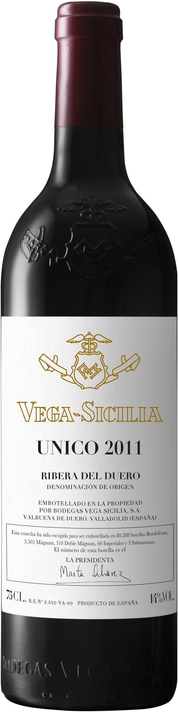 Vega-Sicilia Unico 2011