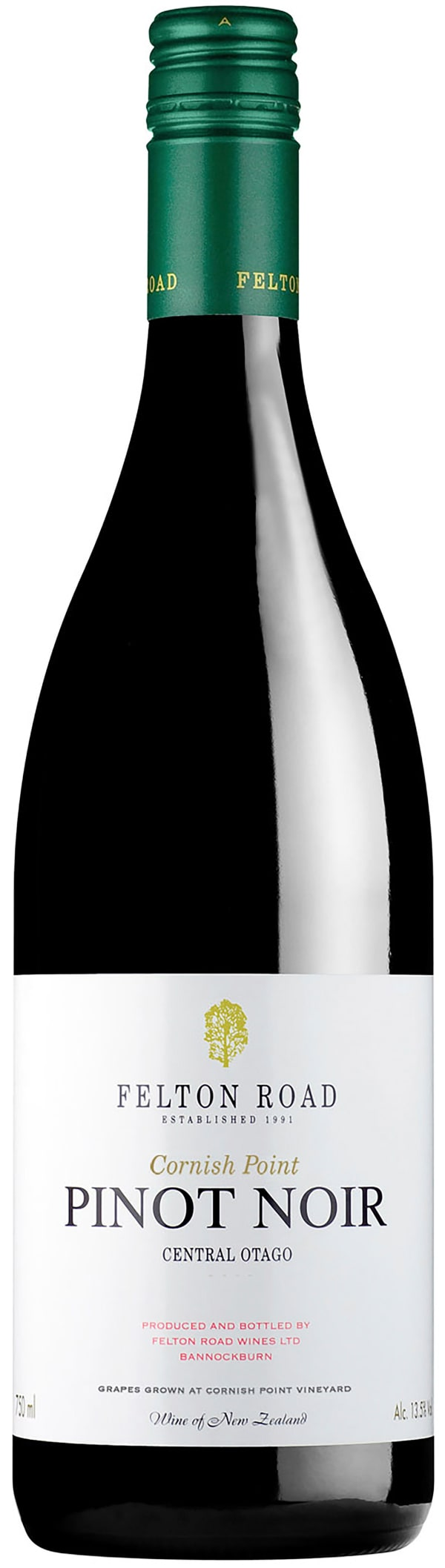Felton Road Cornish Point Pinot Noir 2016