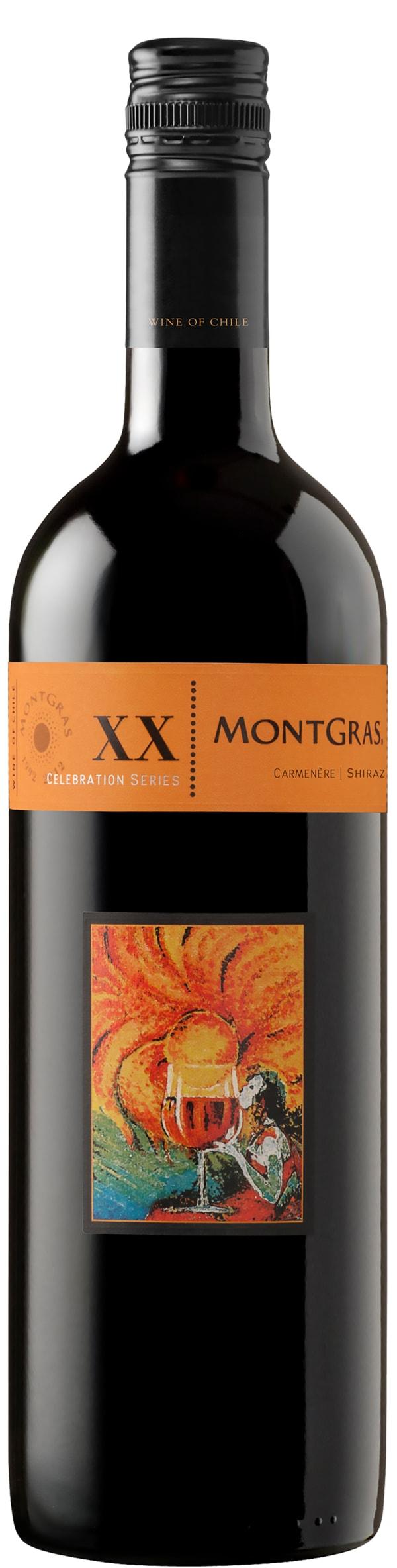 MontGras XX Carmenère Shiraz 2015