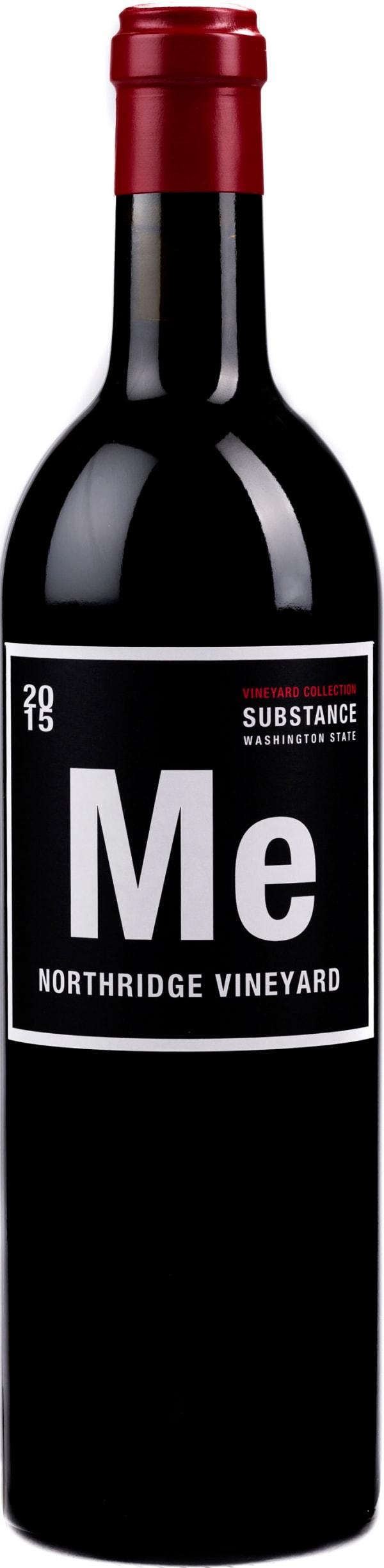 Substance Vineyard Collection Northridge Vineyard Merlot 2015
