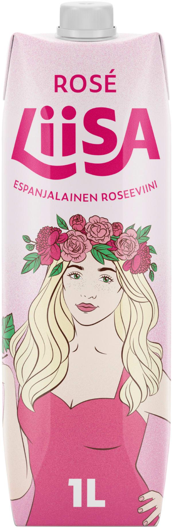 Liisa Bobal Rosé 2020 carton package