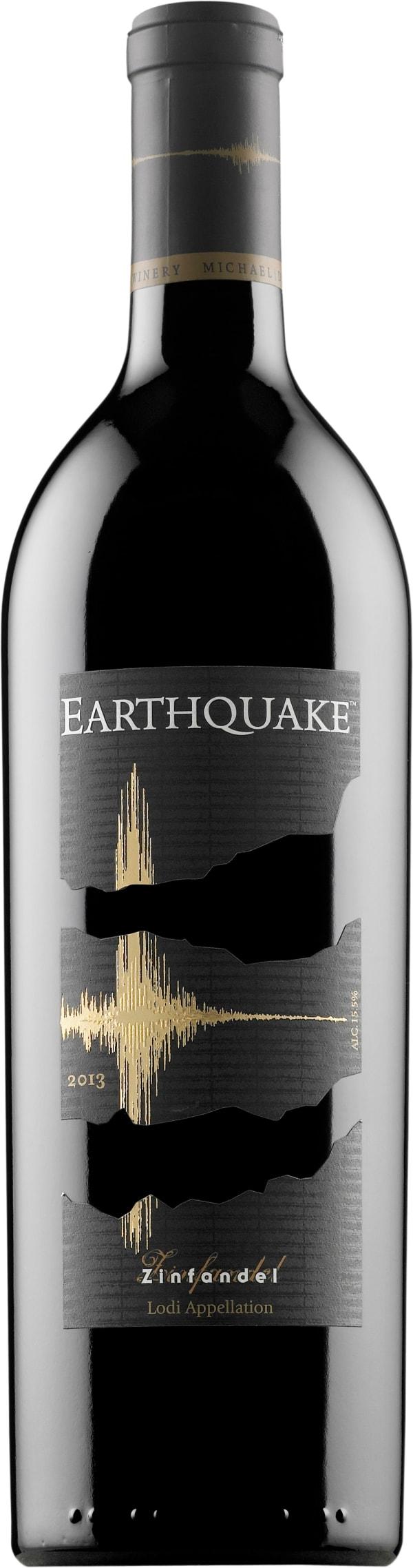 Earthquake Zinfandel 2013