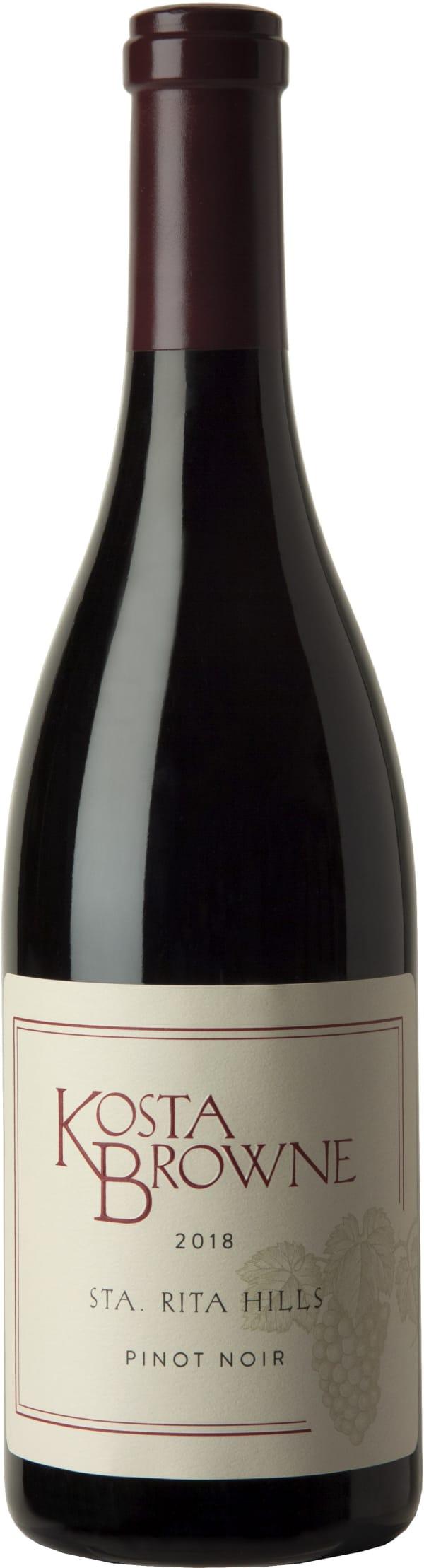 Kosta Browne Sta. Rita Hills Pinot Noir 2018