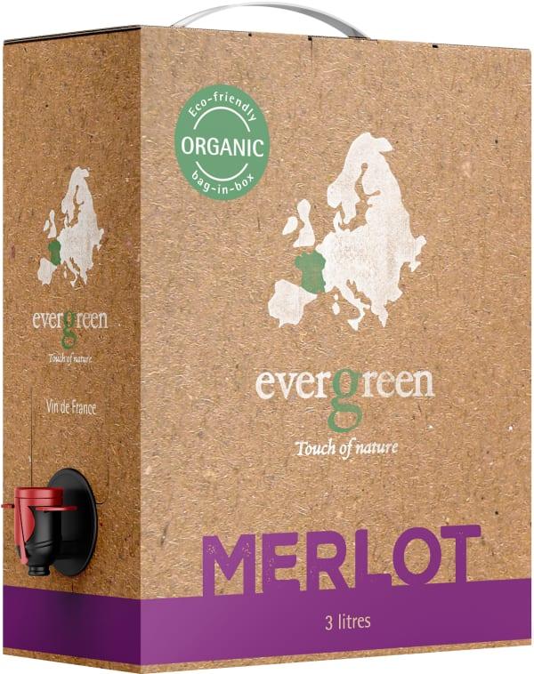 Evergreen Organic Merlot 2018 bag-in-box