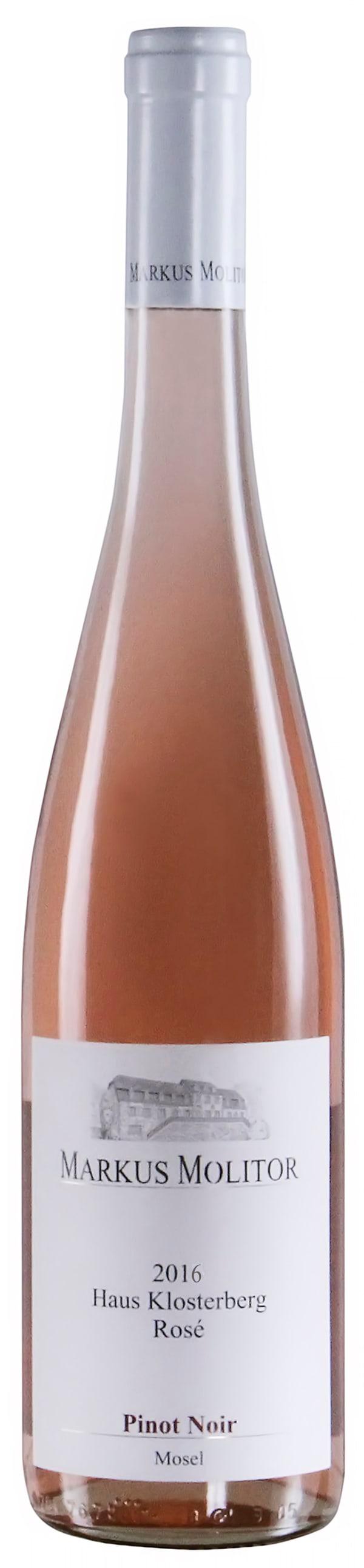 Markus Molitor Haus Klosterberg Pinot Noir Rosé 2016