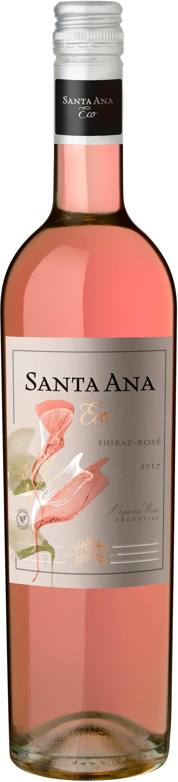 Santa Ana Organic Shiraz Rosé 2017