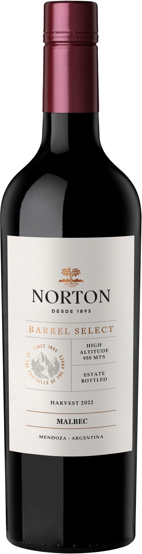 Norton Barrel Select Malbec 2018