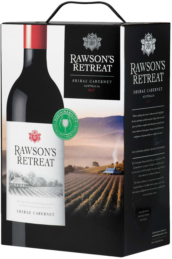 Rawson's Retreat Shiraz Cabernet 2018 lådvin