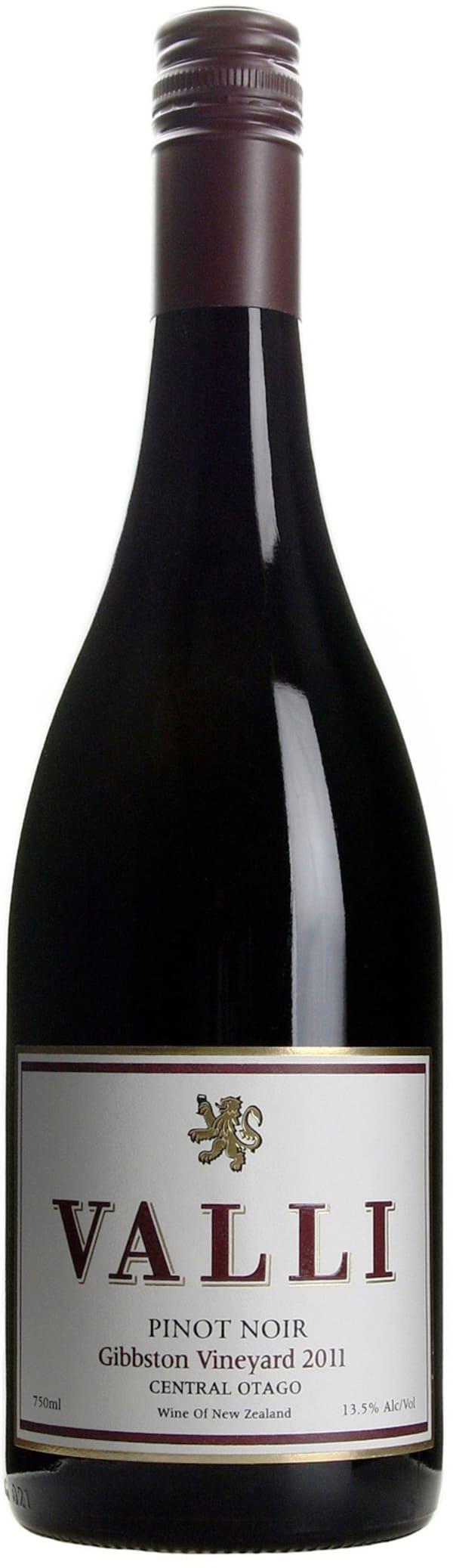 Valli Gibbston Vineyard Pinot Noir 2011