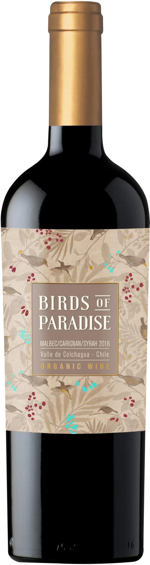 Birds of Paradise Organic 2017