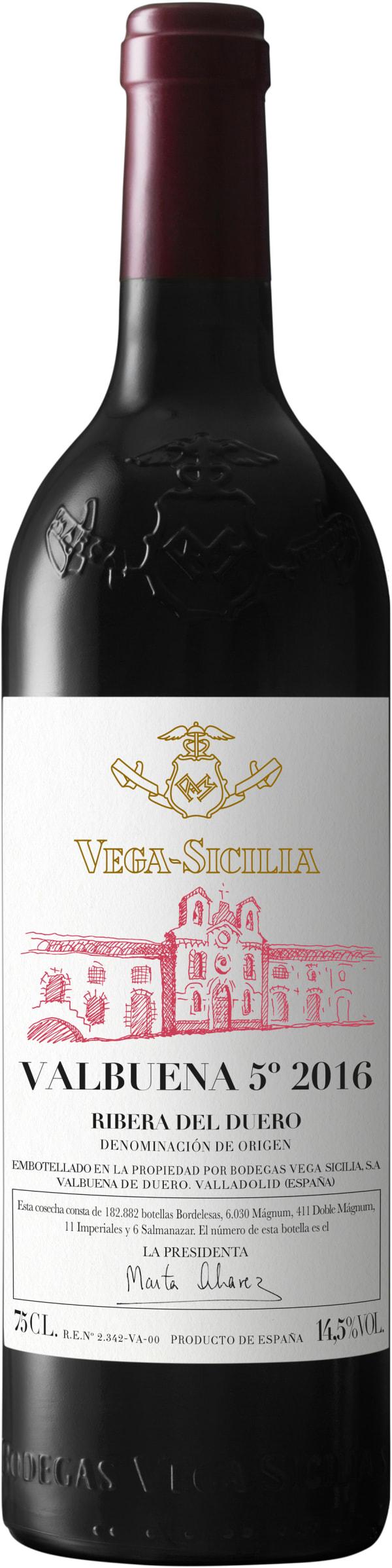 Vega-Sicilia Valbuena 5° 2016