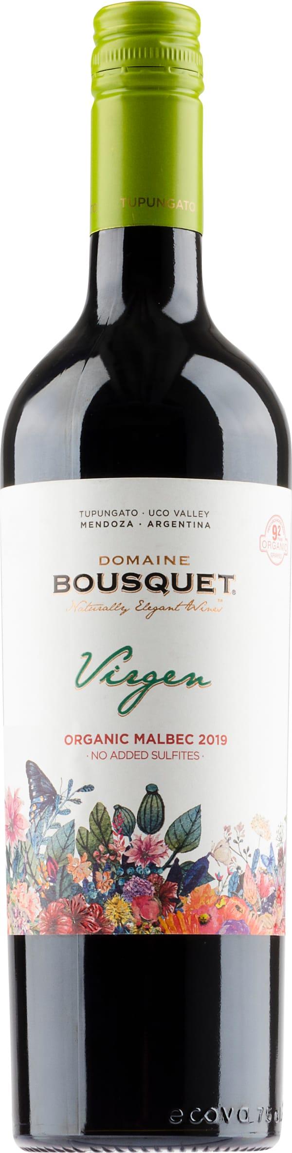 Domaine Bousquet Virgen Organic Malbec 2019