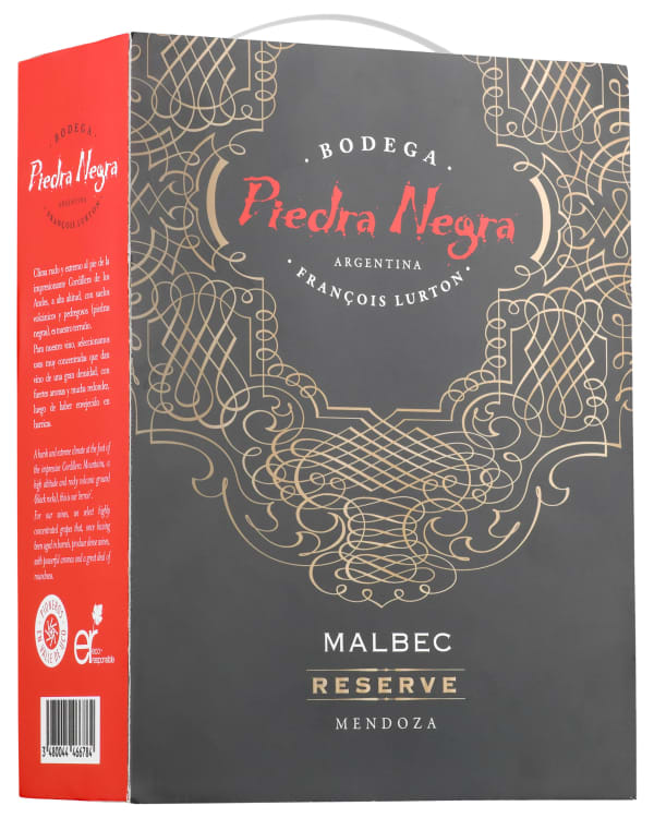 Bodega Piedra Negra Malbec Reserve 2016 bag-in-box