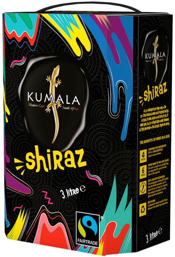 Kumala Shiraz Fairtrade 2018 hanapakkaus