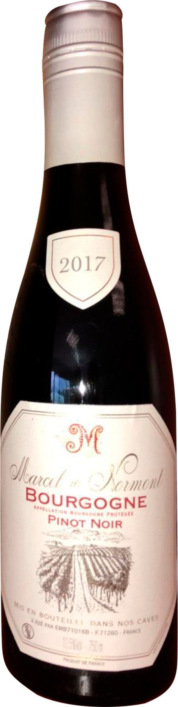 Marcel de Normont Bourgogne Pinot Noir 2017