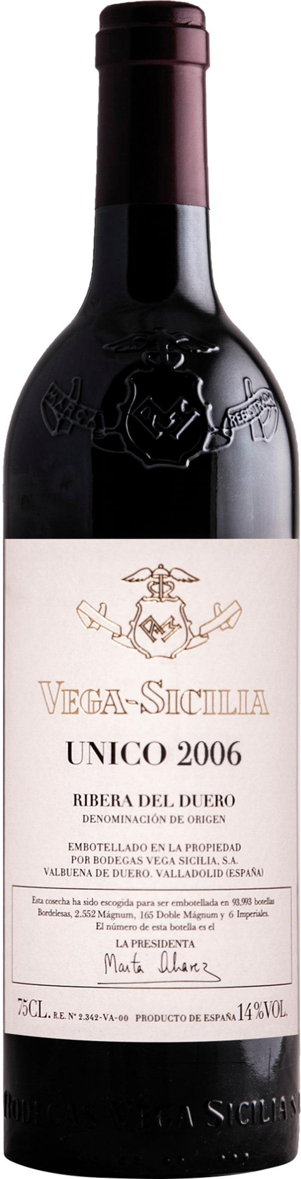 Vega-Sicilia Unico 2006