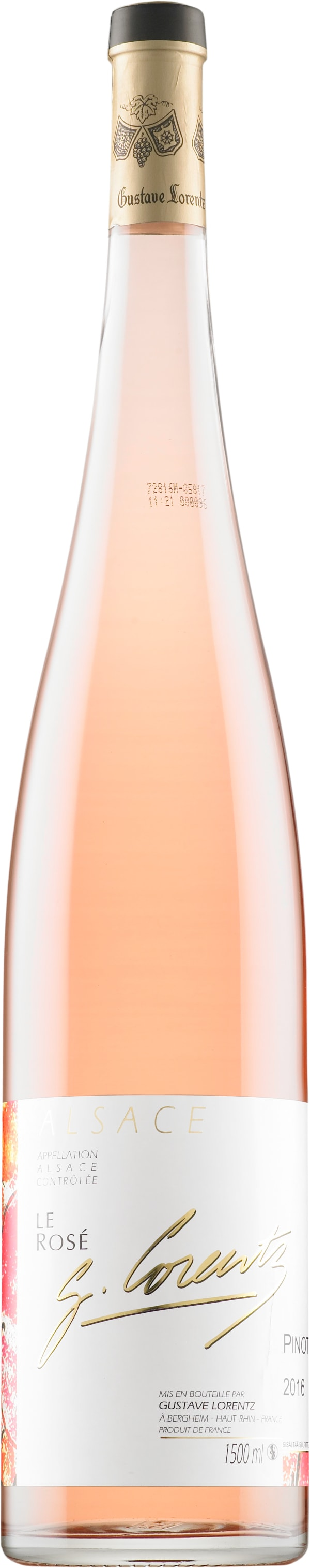 Gustave Lorentz Le Rosé Pinot Noir 2016