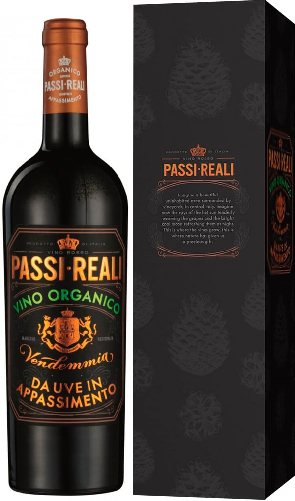 Passi Reali Organico Appassimento 2016 presentförpackning