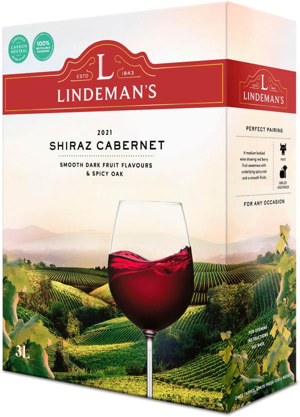 Lindeman's Shiraz Cabernet 2020 bag-in-box