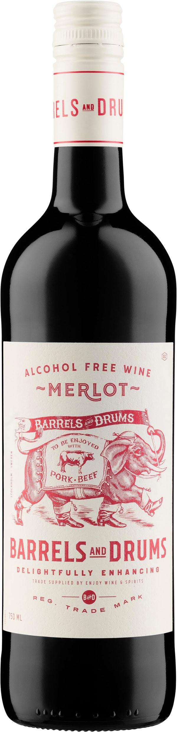 Barrels and Drums Merlot Alcohol Free