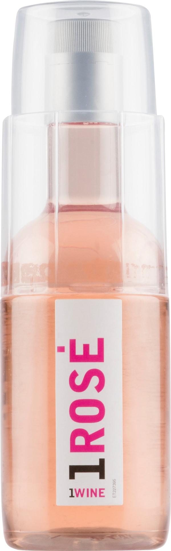 1Wine Rosé plastic bottle