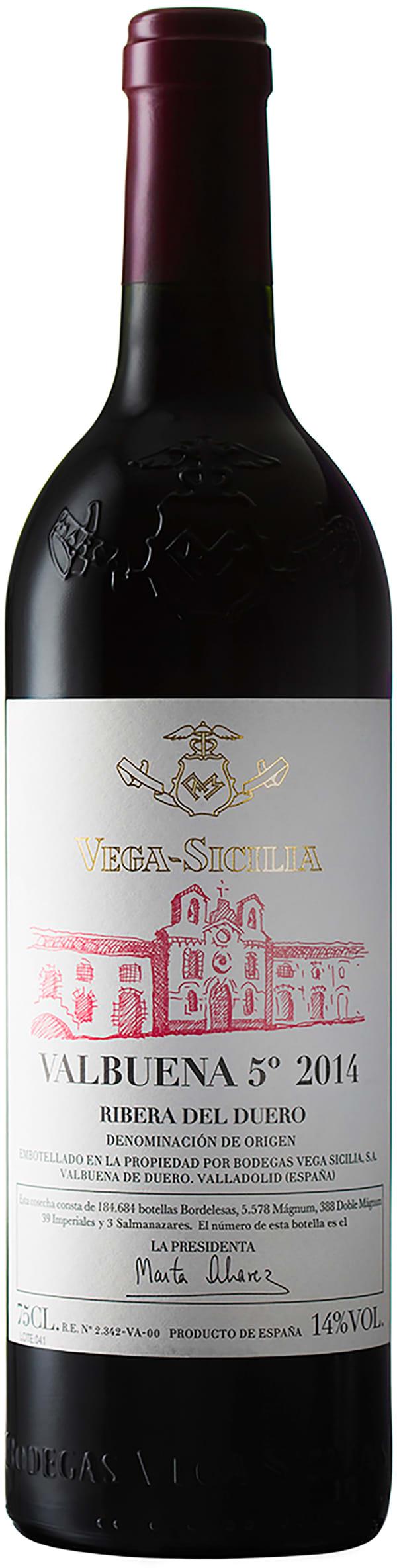 Vega-Sicilia Valbuena 5 2014