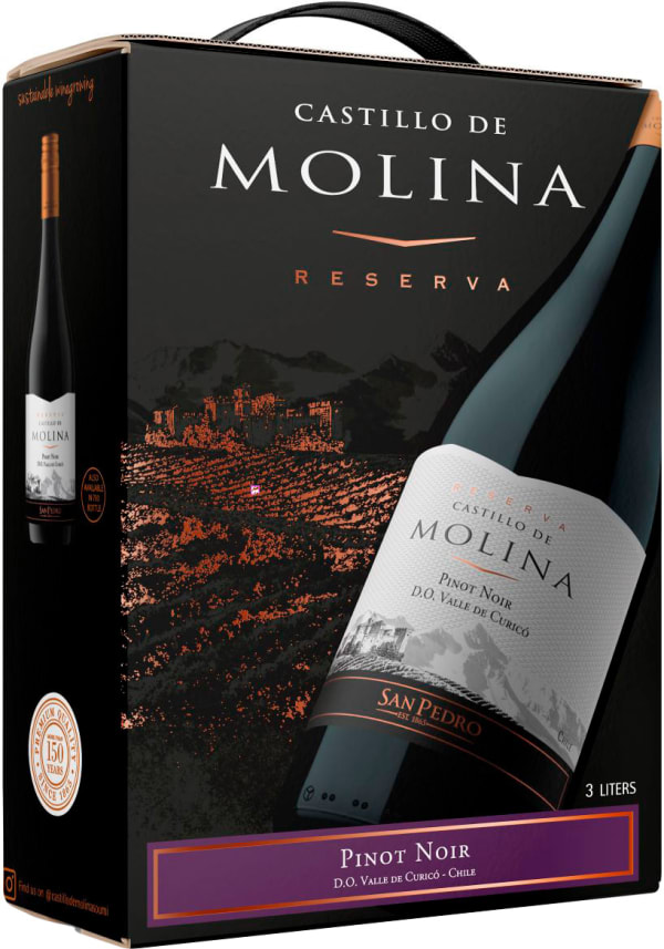 Castillo de Molina Reserva Pinot Noir 2016 bag-in-box