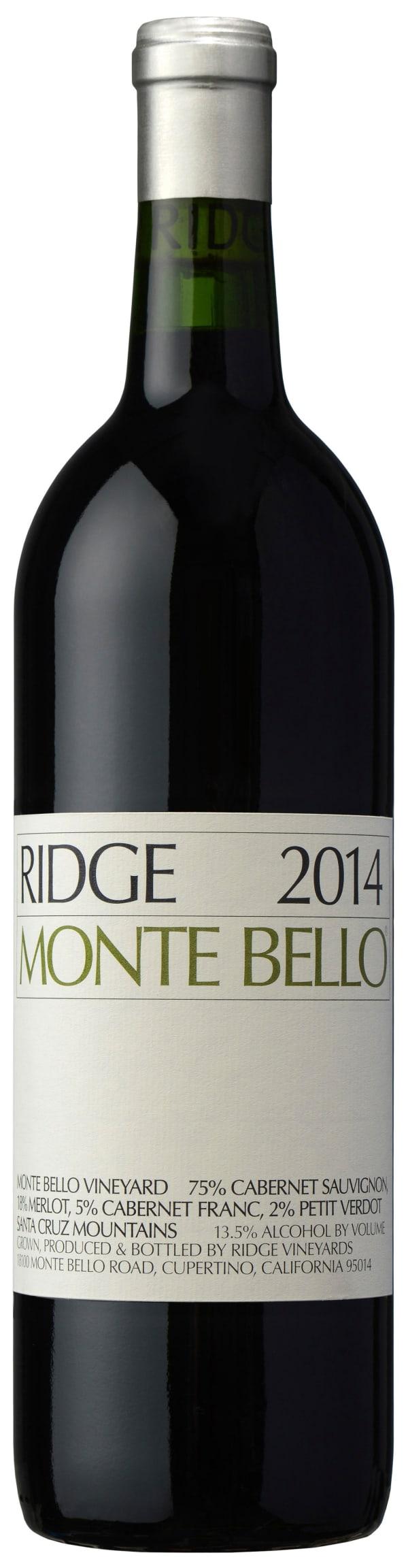 Ridge Monte Bello 2014
