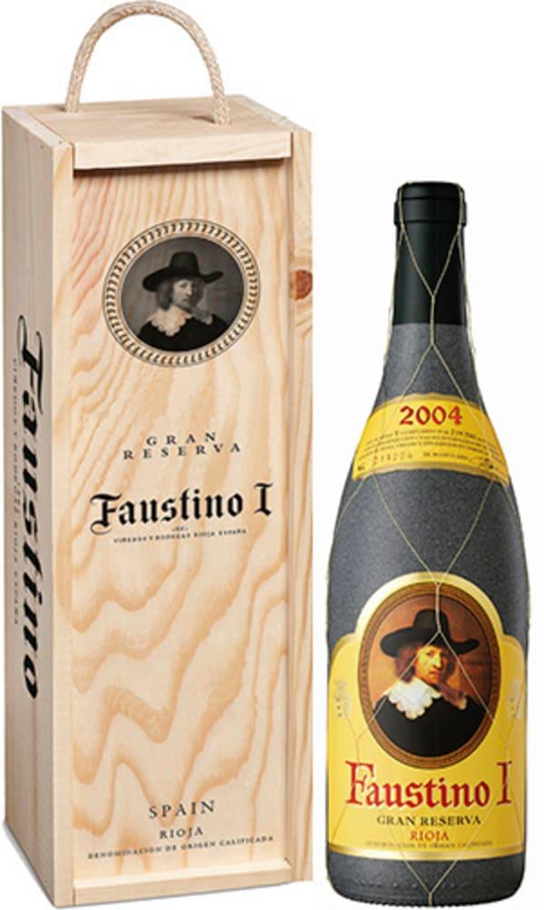 Faustino I Gran Reserva 2006 lahjapakkaus