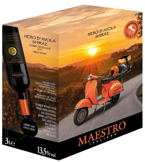 Maestro Italiano Nero d'Avola Syrah bag-in-box