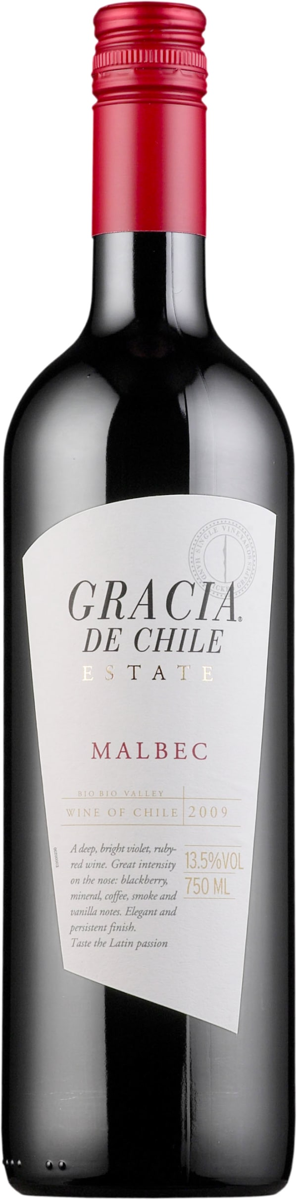 Gracia de Chile Malbec 2016