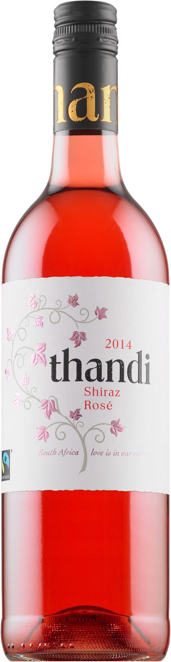 Thandi Shiraz Rosé 2017