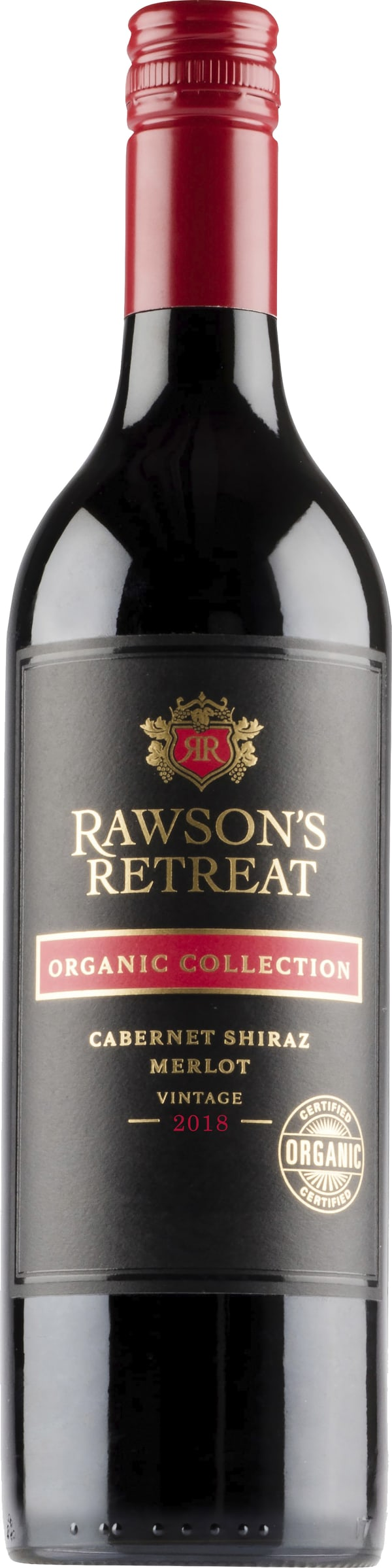Rawson's Retreat Organic Collection Cabernet Shiraz Merlot 2018