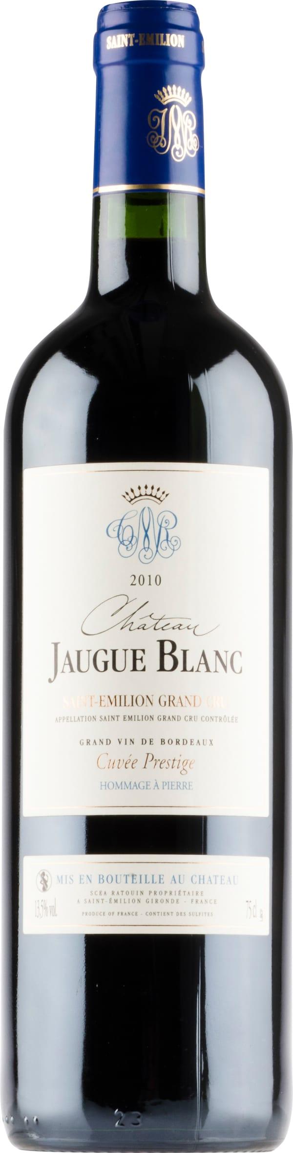 Château Jaugue Blanc 2010