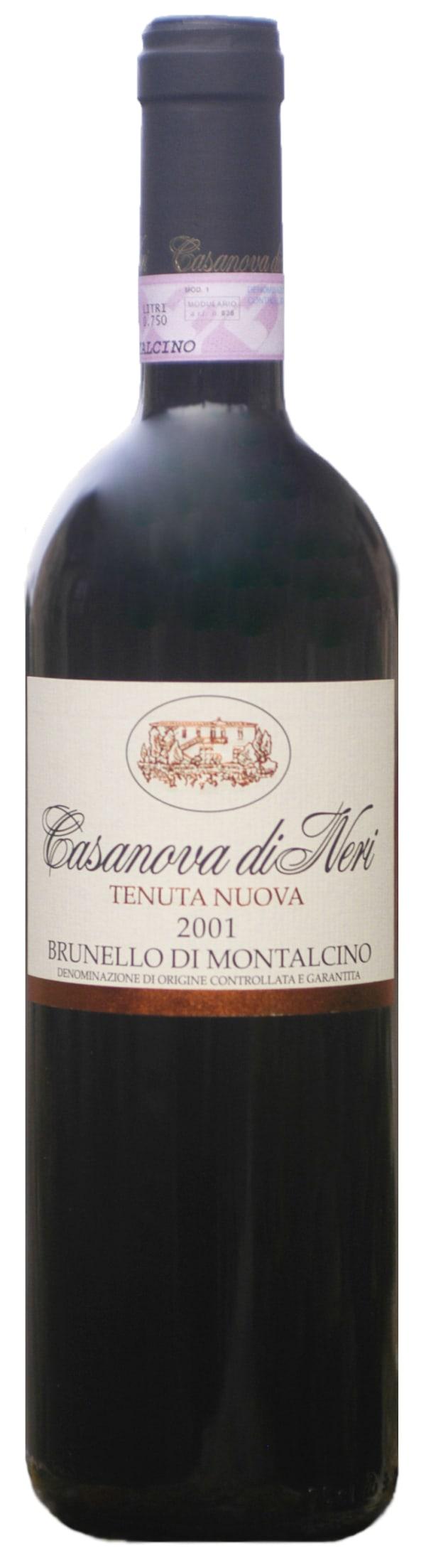 Casanova di Neri Tenuta Nuova Brunello di Montalcino 2001