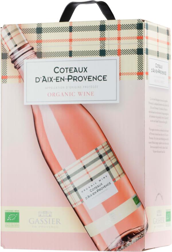 Gassier Coteaux d'Aix-en-Provence Organic 2017 lådvin