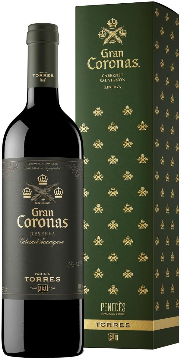Torres Gran Coronas Cabernet Sauvignon Reserva 2015 presentförpackning