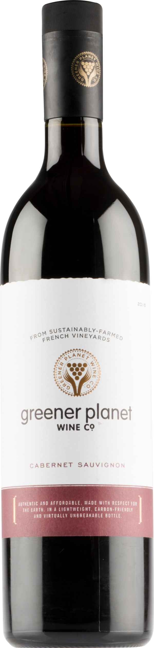 Greener Planet Cabernet Sauvignon 2018 plastic bottle