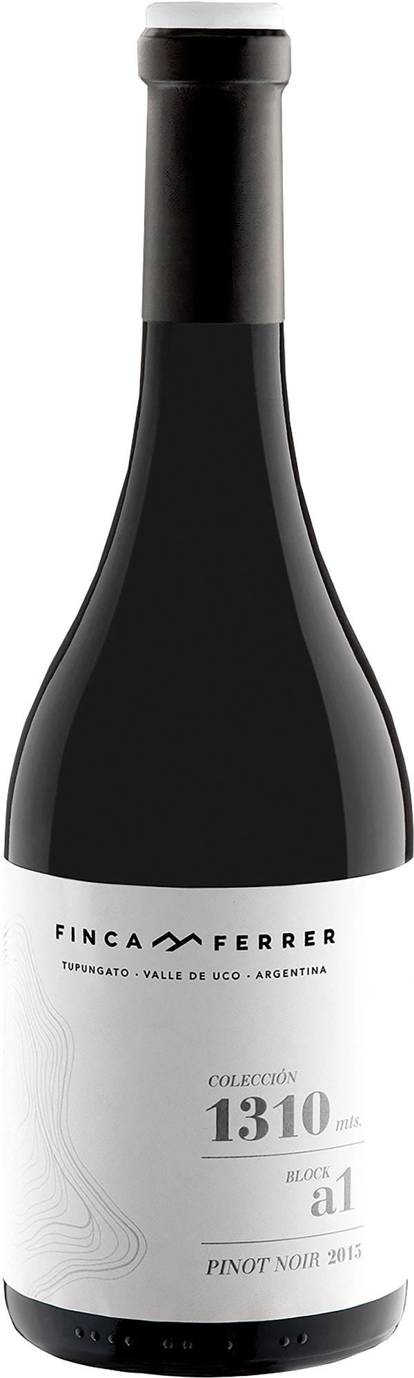 Finca Ferrer Colección 1310 mts. Block A1 Pinot Noir 2015