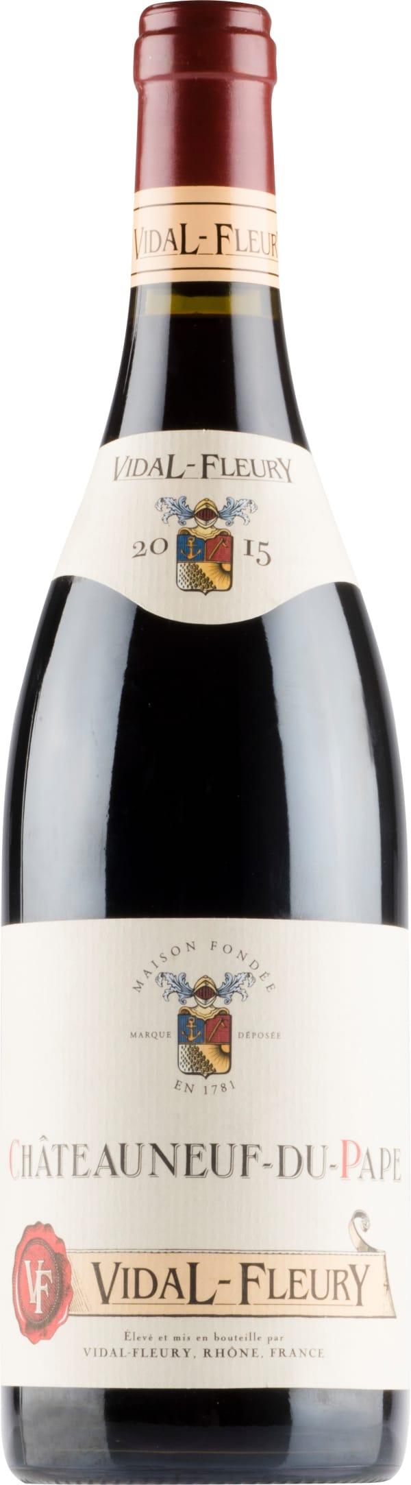 Vidal-Fleury Châteauneuf-du-Pape 2015