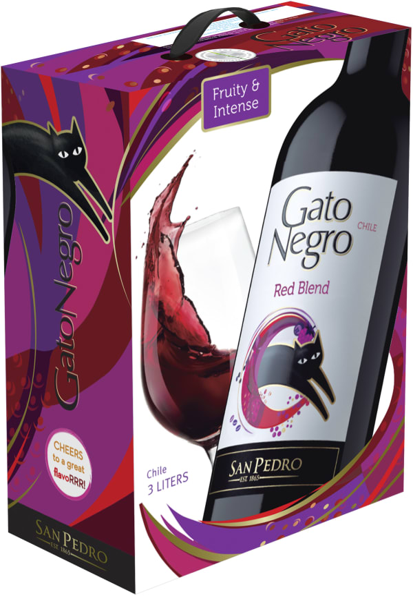 Gato Negro Red Blend 2019 bag-in-box