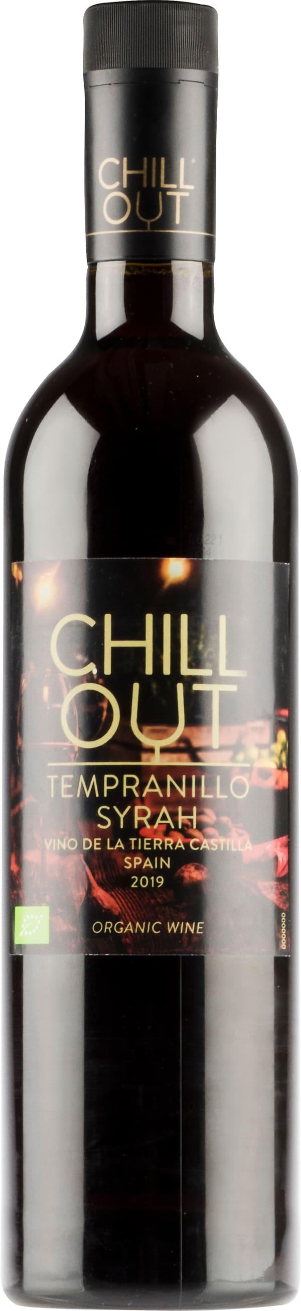 Chill Out Organic Tempranillo Syrah 2019 plastflaska
