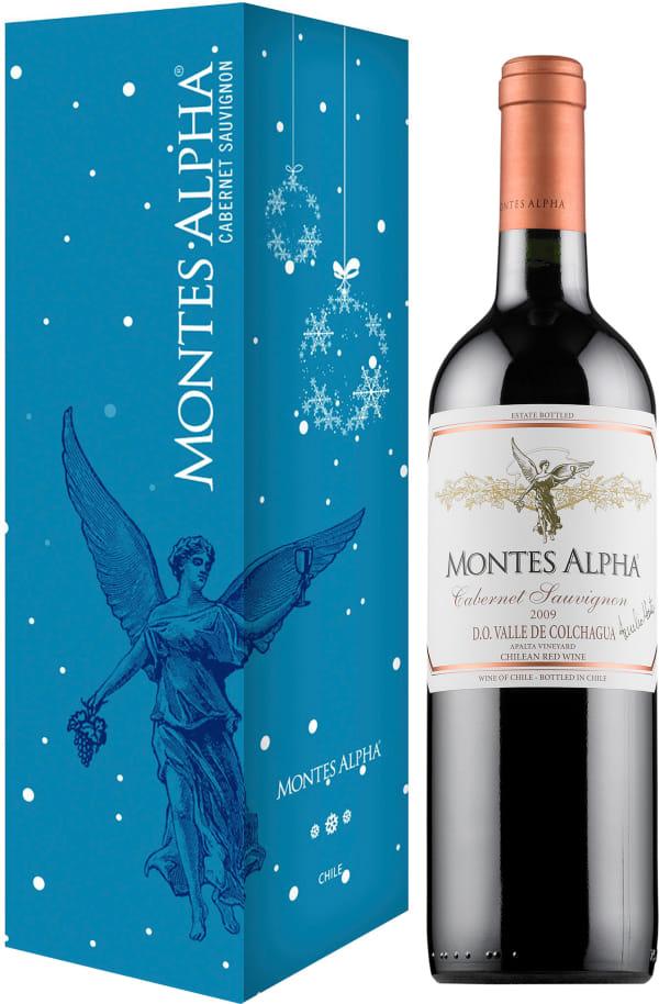 Montes Alpha Cabernet Sauvignon 2015 presentförpackning