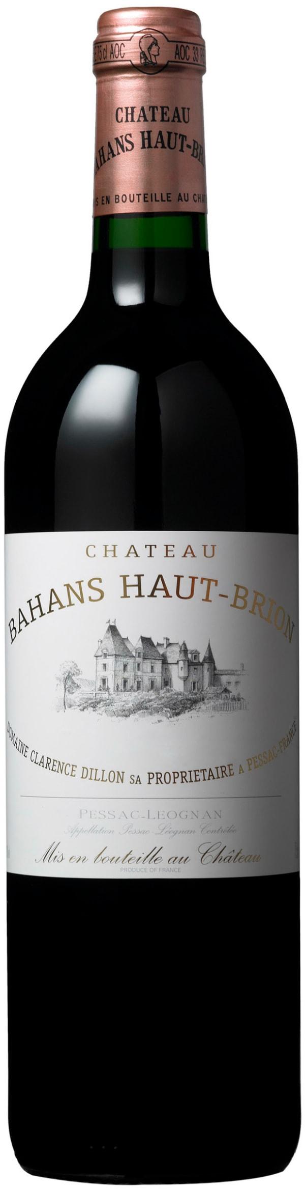 Château Bahans Haut-Brion 2000
