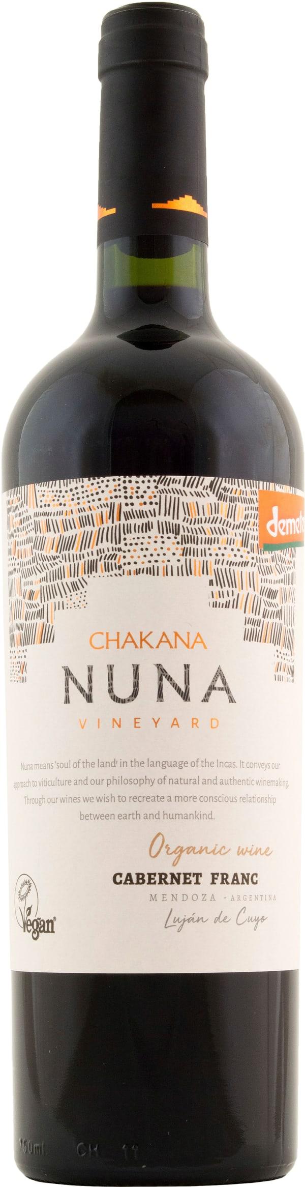 Chakana Nuna Vineyard Cabernet Franc 2018