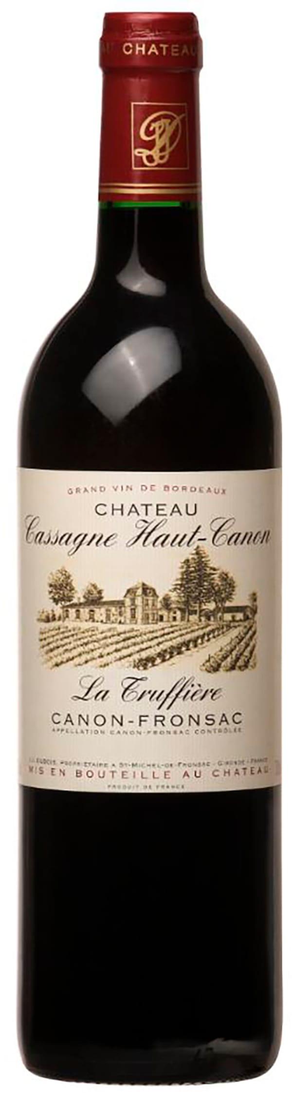 Château Cassagne Haut-Canon La Truffière 2009