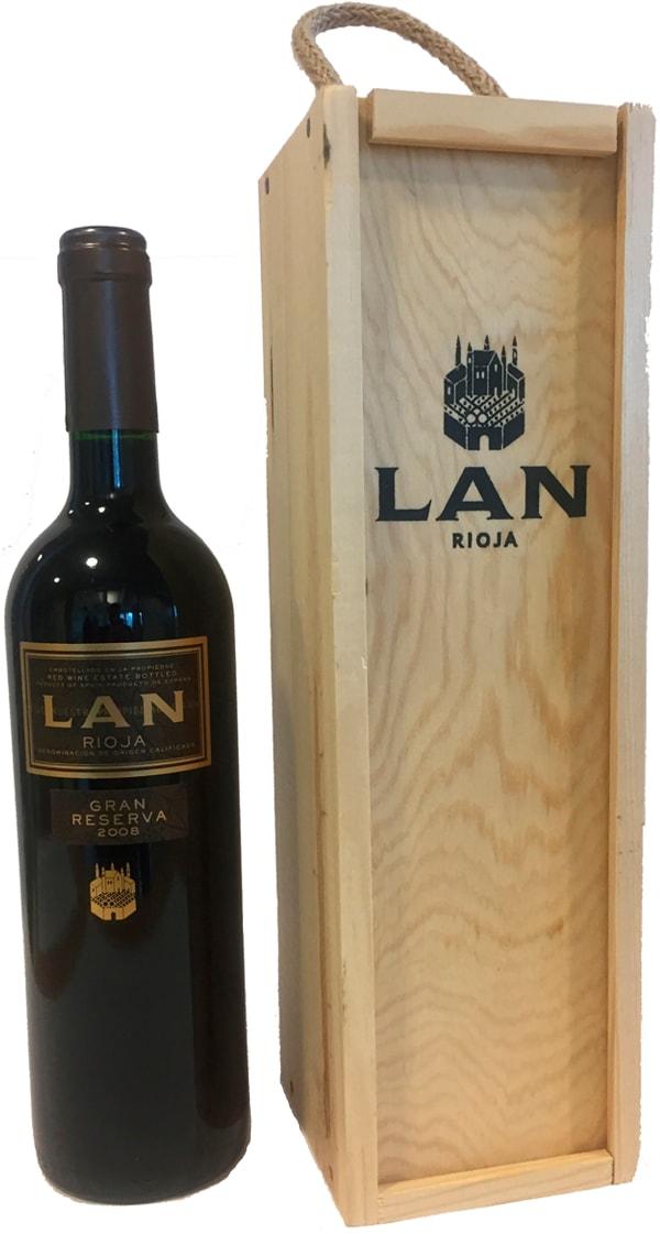 Lan Gran Reserva 2011 gift packaging
