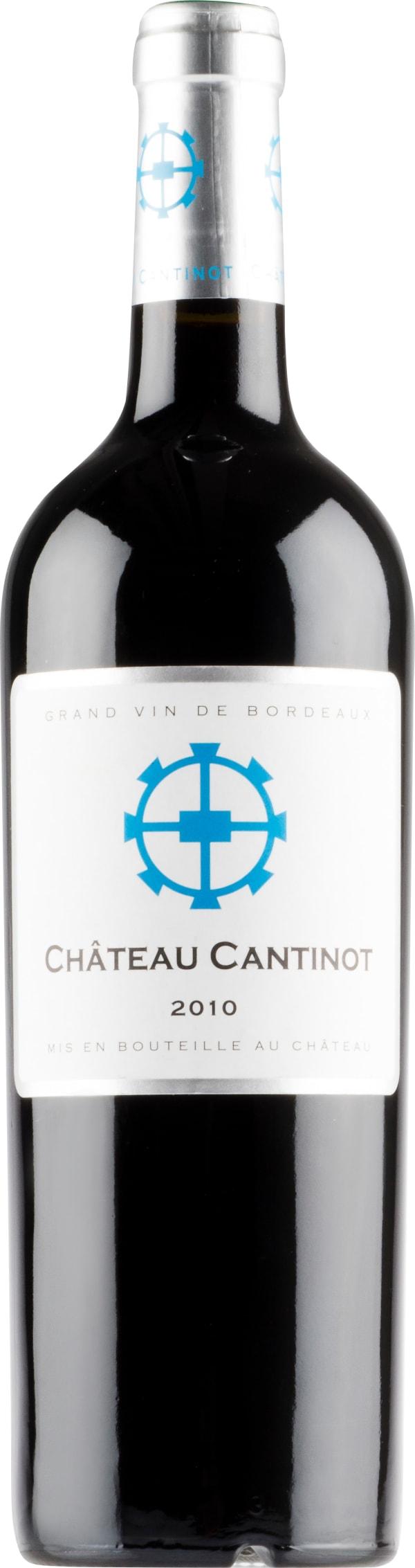 Château Cantinot 2010