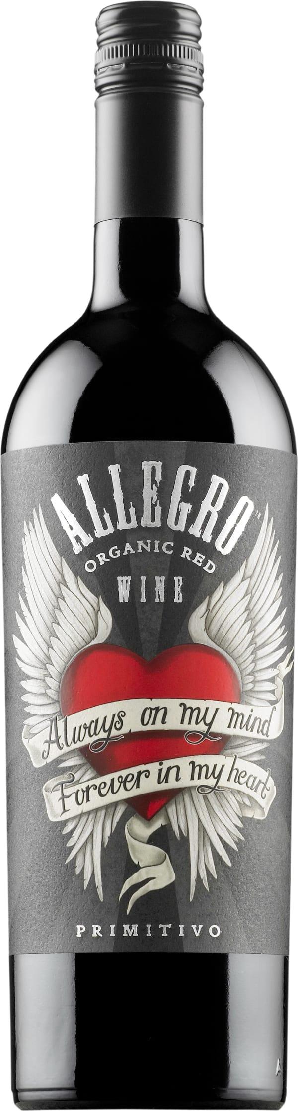 Allegro Organic Primitivo 2019